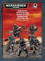 W40k: Chaos Space Marines - Chaos Cultists (5 figurek)