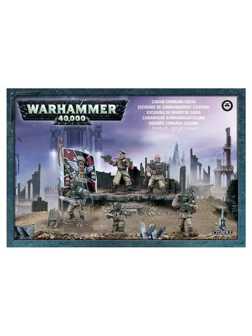 W40k: Imperial Guard - Cadian Command Squad (5 figurek) (PC)