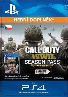 Call of Duty: WWII - Season Pass (PS4 DIGITAL)