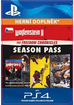 Wolfenstein II: Season Pass (PS4 DIGITAL)