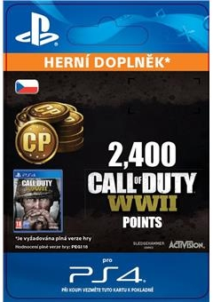 Call of Duty: WWII 2,400 Points (PS4 DIGITAL)