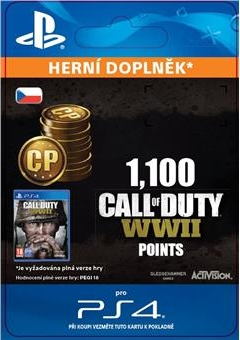 Call of Duty: WWII 1,100 Points (PS4 DIGITAL) (PS4)