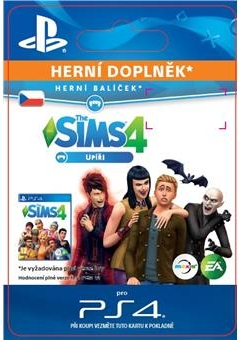 The Sims 4 Vampires (PS4 DIGITAL)