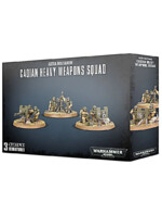 W40k: Imperial Guard - Cadian Heavy Weapon Squad