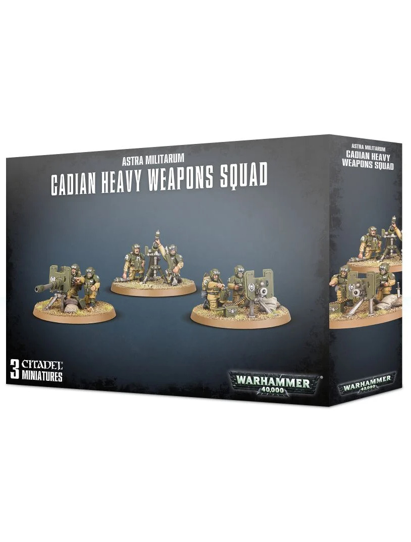 W40k: Imperial Guard - Cadian Heavy Weapon Squad (PC)