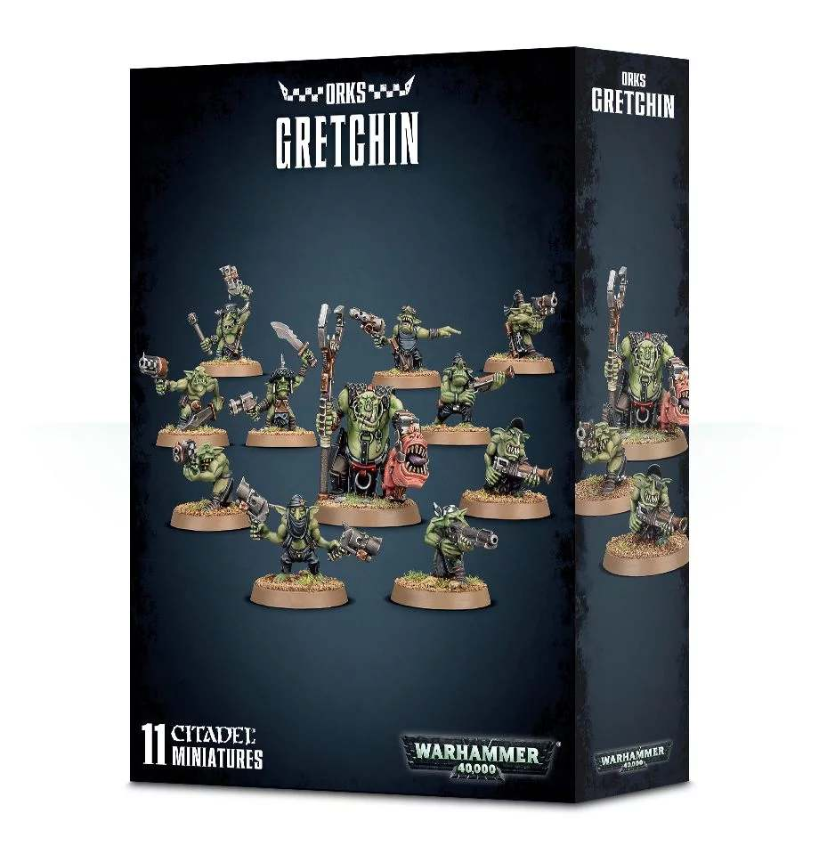 W40k: Ork - Gretchin (11 figurek) (PC)