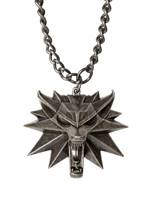 Medailon na krk Zaklínač 3 - Vlk (PC)