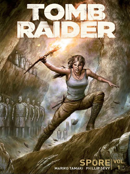 Komiks Tomb Raider II Volume 1: Spore (PC)