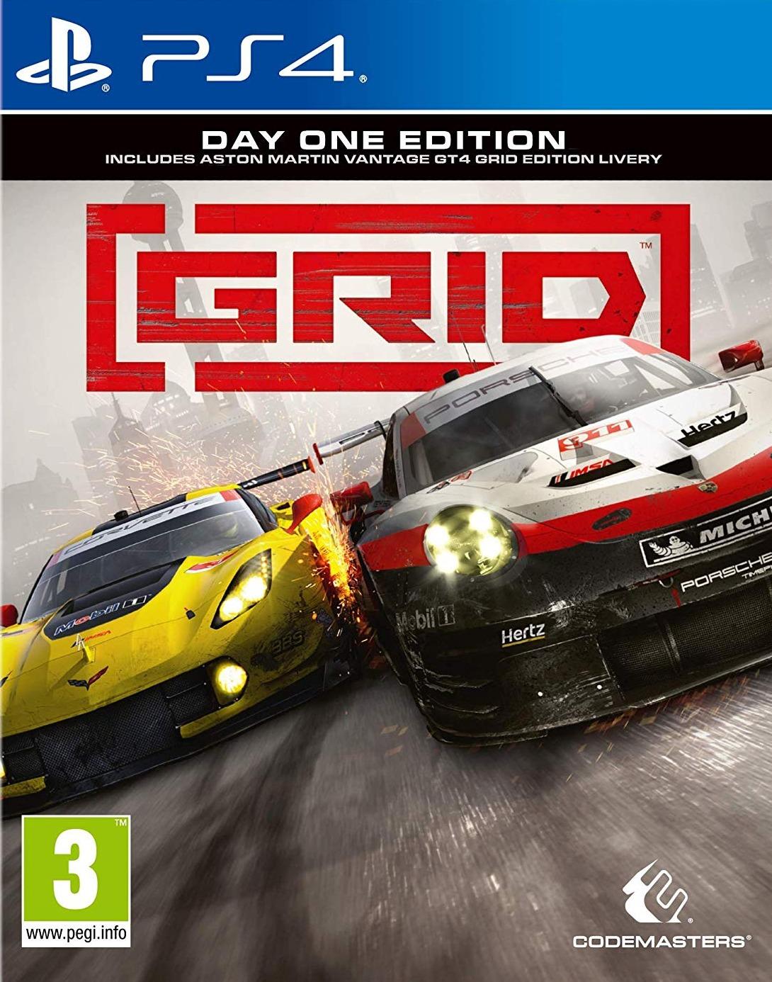 GRID - Day One Edition BAZAR (PS4)