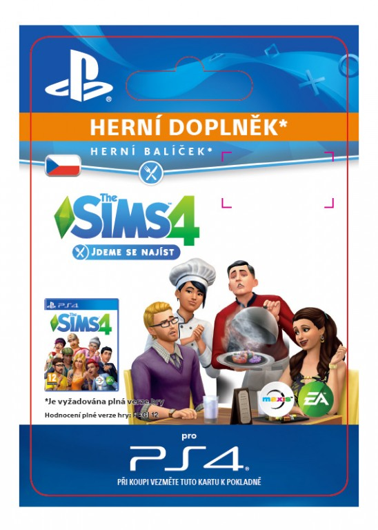 The Sims 4 - Dine Out (PS4 DIGITAL)