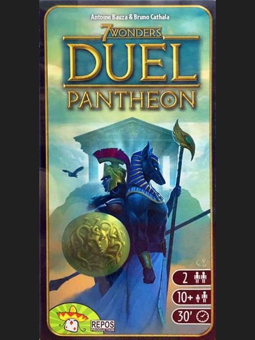Desková hra 7 divů světa - DUEL Pantheon EN (rozšíření) (PC)