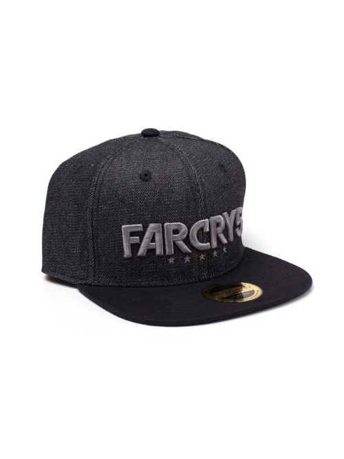 Kšiltovka Far Cry 5 - Black Denim Logo (PC)