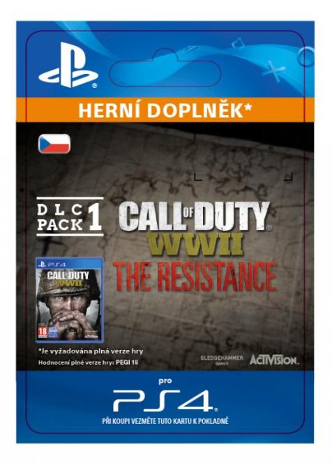 Call of Duty®: WWII - The Resistance: DLC Pack 1 (30.1.2018) (PS4 DIGITAL)