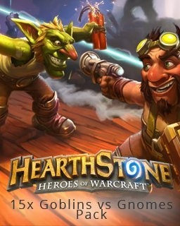 15x Hearthstone Goblins vs Gnomes Pack (PC DIGITAL)