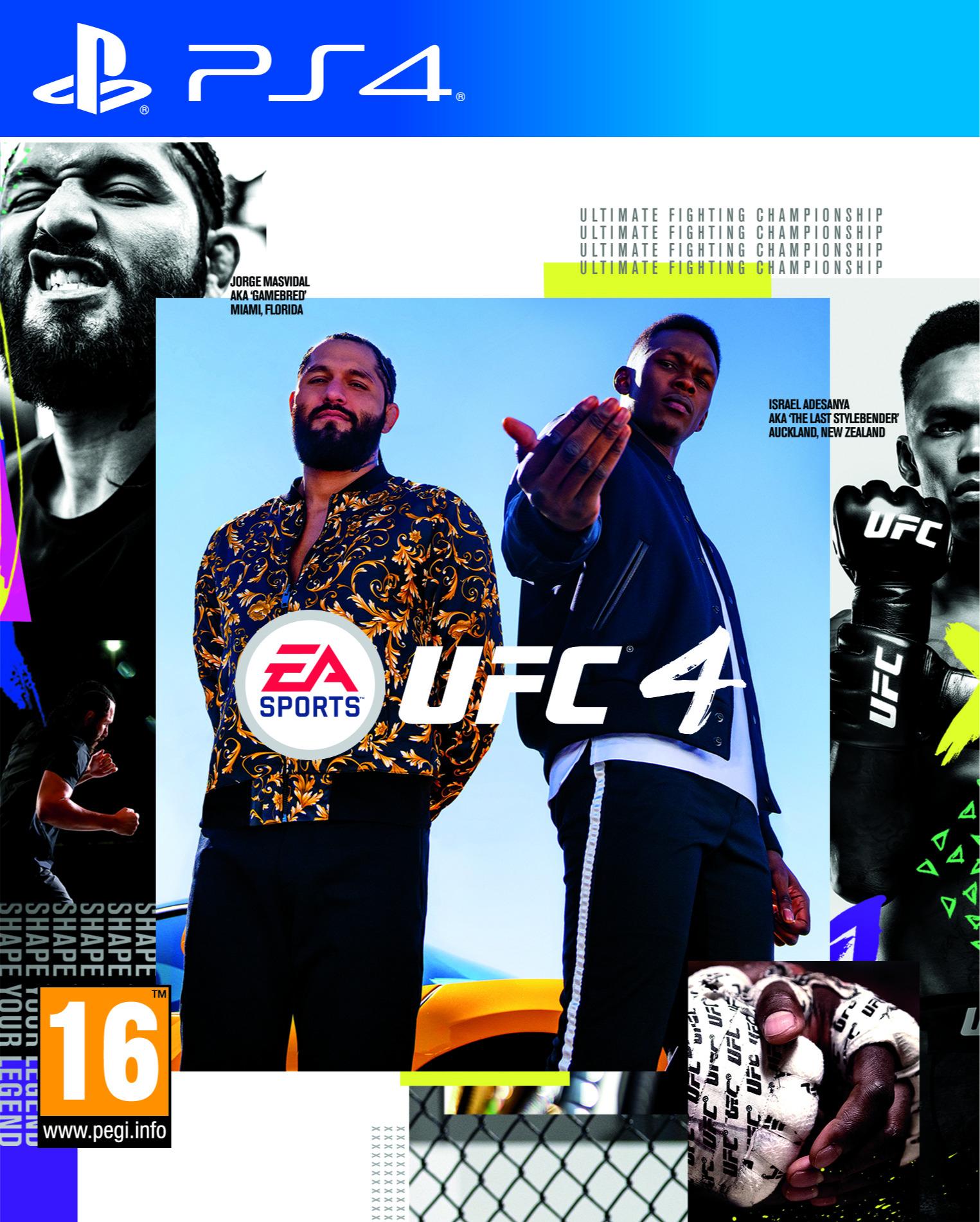 EA Sports UFC 4 BAZAR (PS4)