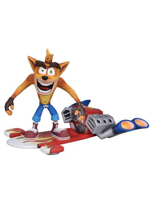 Figurka Crash Bandicoot - Hoverboard Crash (NECA. 14 cm) (PC)