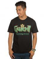 Tričko Zaklínač - Gwent Classic Logo (americká vel. XL / evropská XXL)