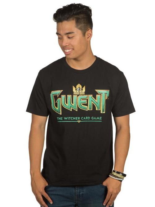 Tričko Zaklínač - Gwent Classic Logo (americká vel. XL / evropská XXL) (PC)