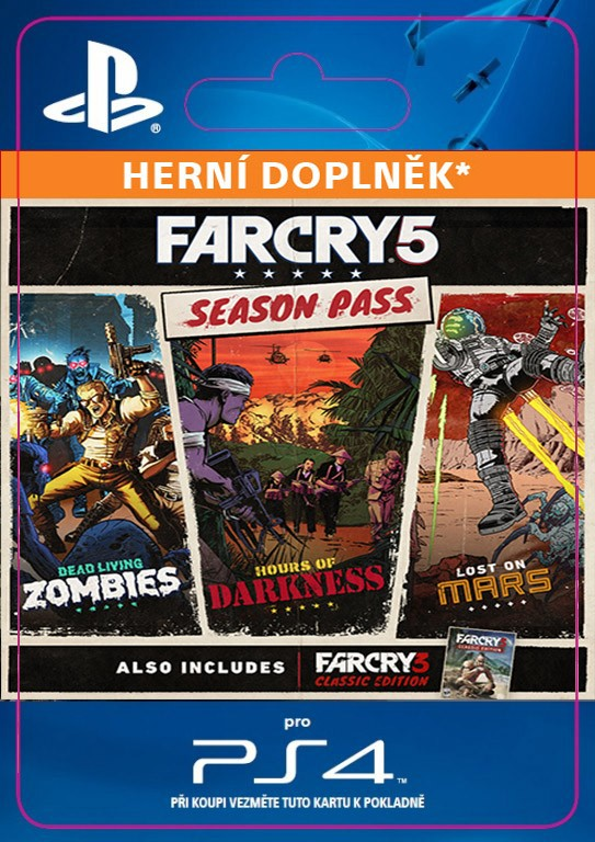Far Cry 5 Season Pass (PS4 DIGITAL)
