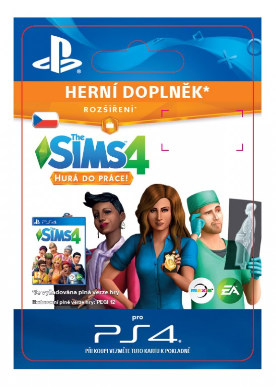 The Sims 4 Get to Work (PS4 DIGITAL)