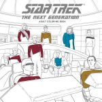 Omalovánky pro dospělé Star Trek: The Next Generation