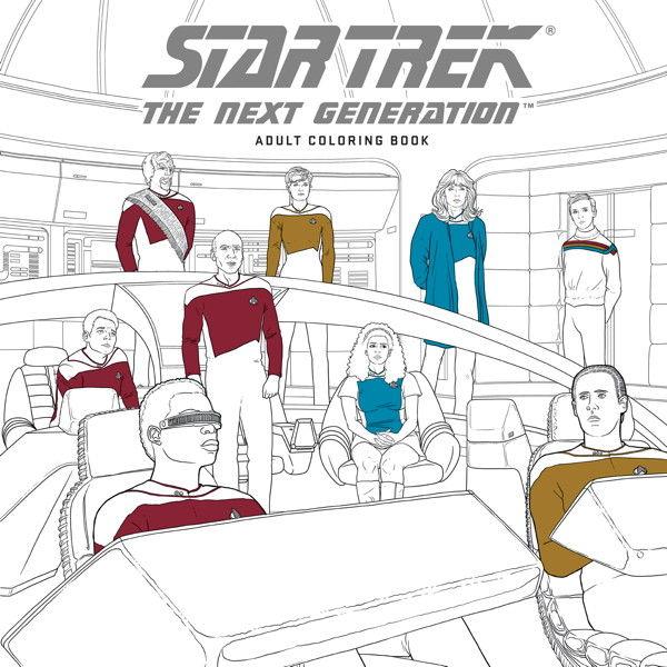 Omalovánky pro dospělé Star Trek: The Next Generation (PC)