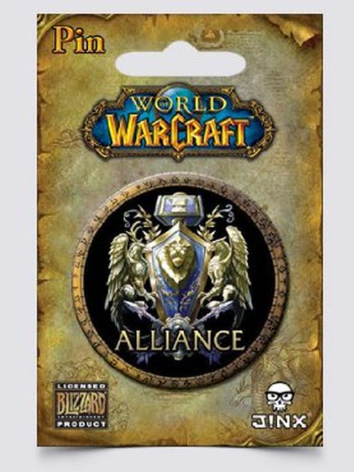 Odznak World of Warcraft - Alliance Multicolor (PC)