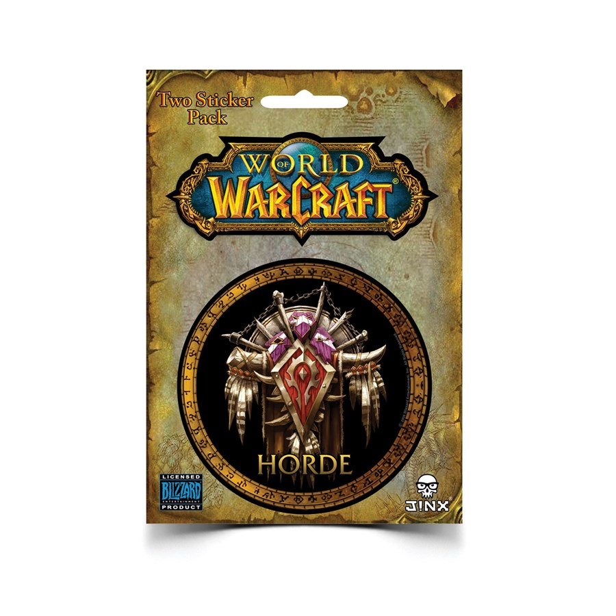 Samolepka World of Warcraft - Horde (PC)