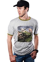 Tričko World of Tanks - Comics Tank (velikost XL)