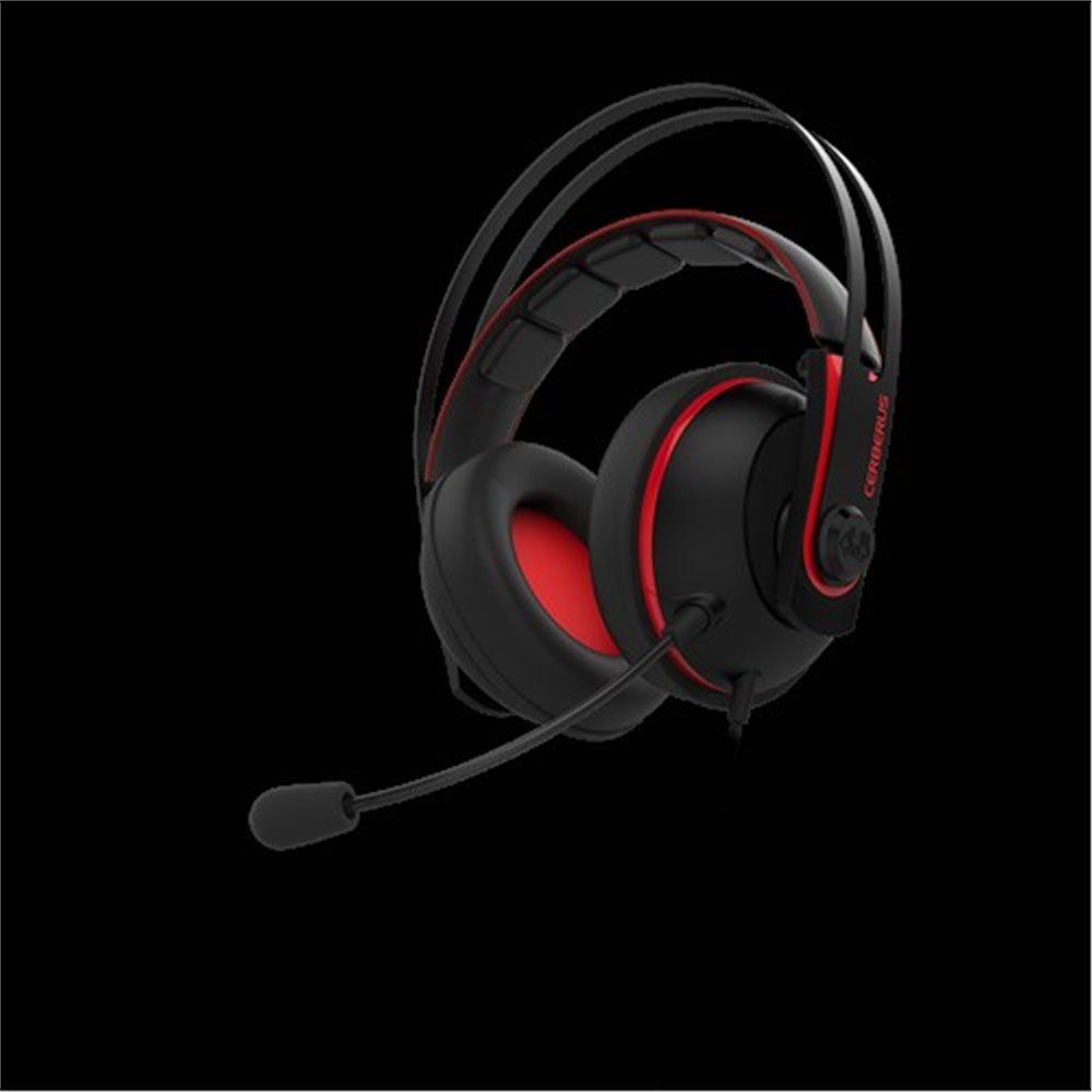 Herní headset ASUS Cerberus V2 - Červený (PC)