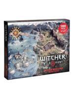 Puzzle Zaklínač - Mapa severních království