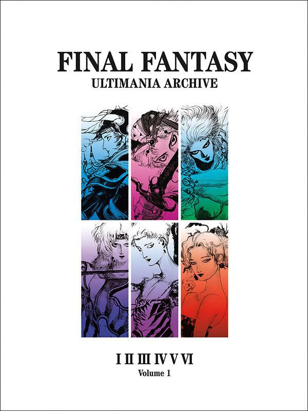 Kniha Final Fantasy Art Book Ultimania Archive Volume 1 (PC)
