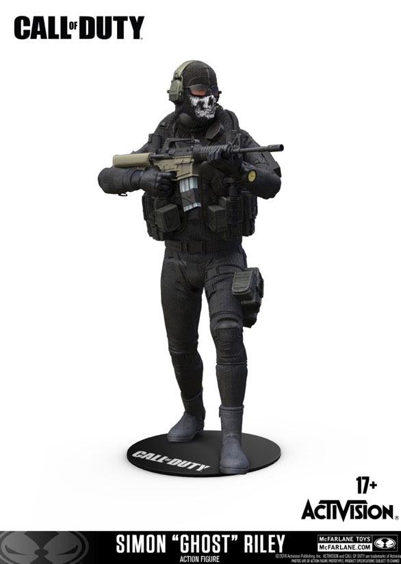 Figurka Call of Duty - Simon Ghost Riley (PC)