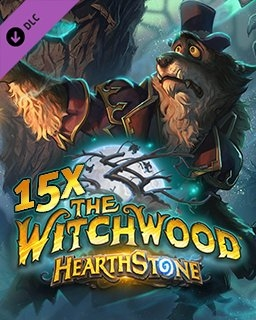 15x Hearthstone The Witchwood (DIGITAL)