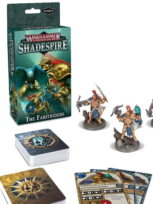 Desková hra Warhammer Underworlds: Shadespire - The Farstriders (rozšíření) (PC)