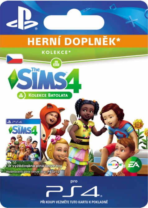 The Sims™ 4 Toddler Stuff (PS4 DIGITAL)