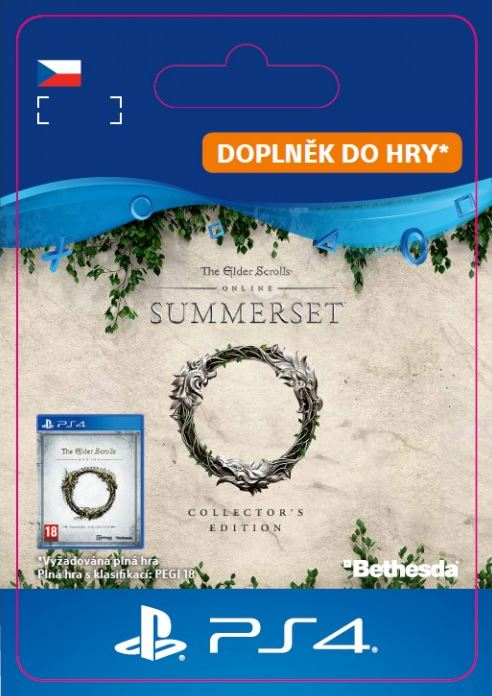 The Elder Scrolls® Online: Summerset™ Collector's edition upgrade (PS4)