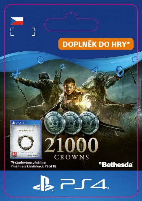 The Elder Scrolls® Online: 21000 Crowns (PS4 DIGITAL) (PS4)