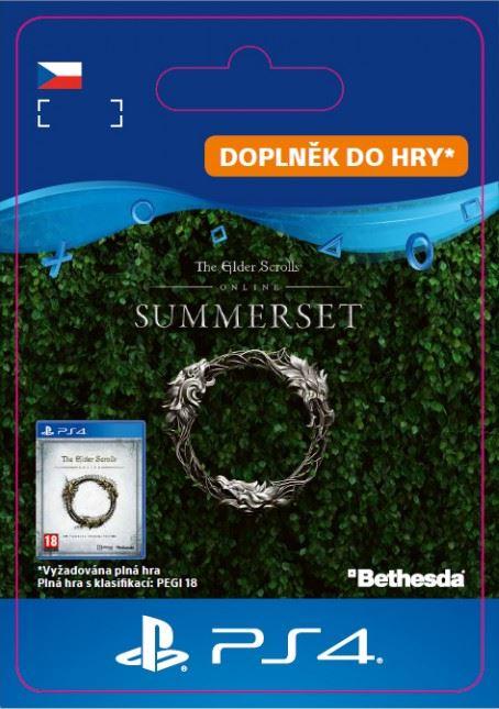 The Elder Scrolls® Online: Summerset™ Upgrade (PS4 DIGITAL) (PS4)