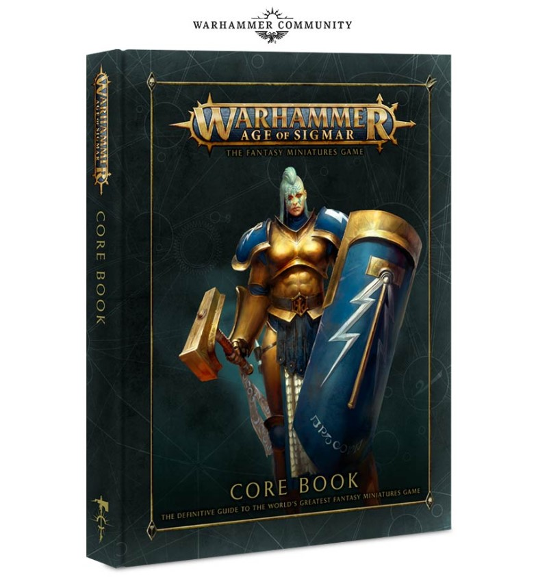 Kniha Warhammer Age of Sigmar - Core Book 2018 (PC)