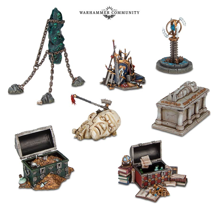 Warhammer Age of Sigmar - Objective Markers (PC)