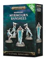W-AOS: Nighthaunt - Myrmourn Banshees (4 figurky)
