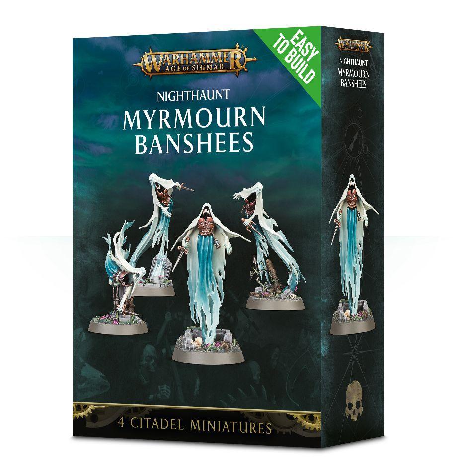 W-AOS: Nighthaunt - Myrmourn Banshees (4 figurky) (PC)