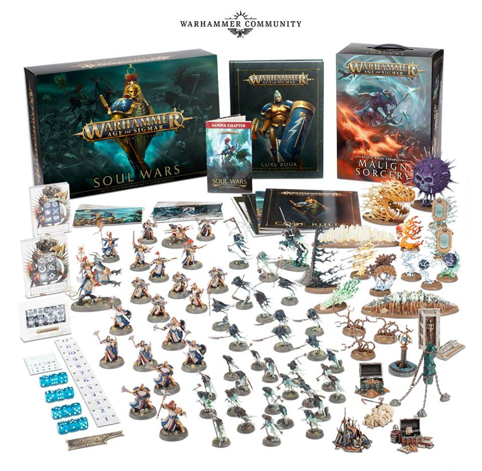 Warhammer Age of Sigmar - Soul Wars (Kompletní Box) (PC)
