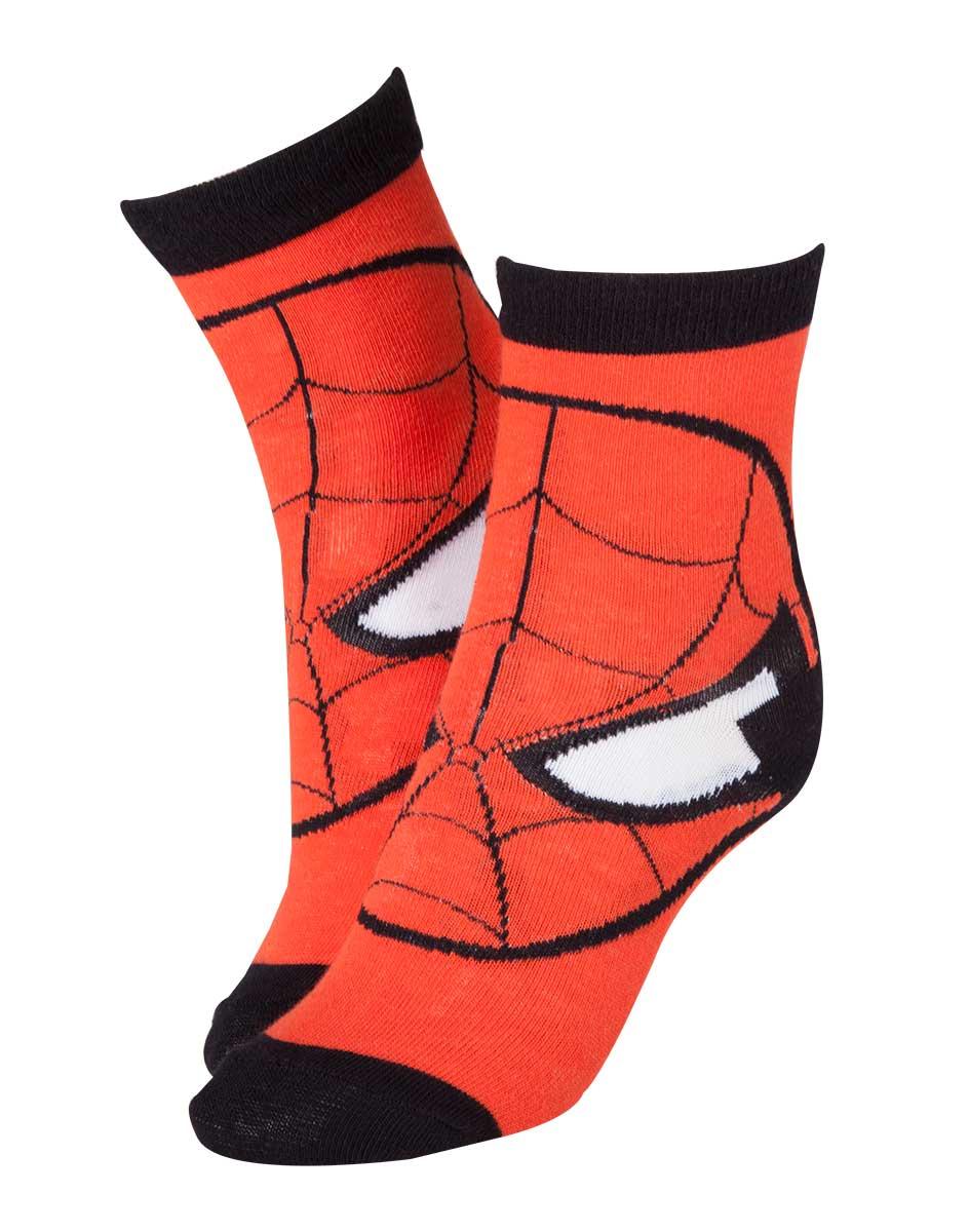 Ponožky Spider-Man - Mask (velikost 39/42) (PC)