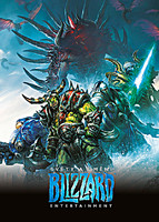Kniha Světy a umění Blizzard Entertainment (The Art of Blizzard)
