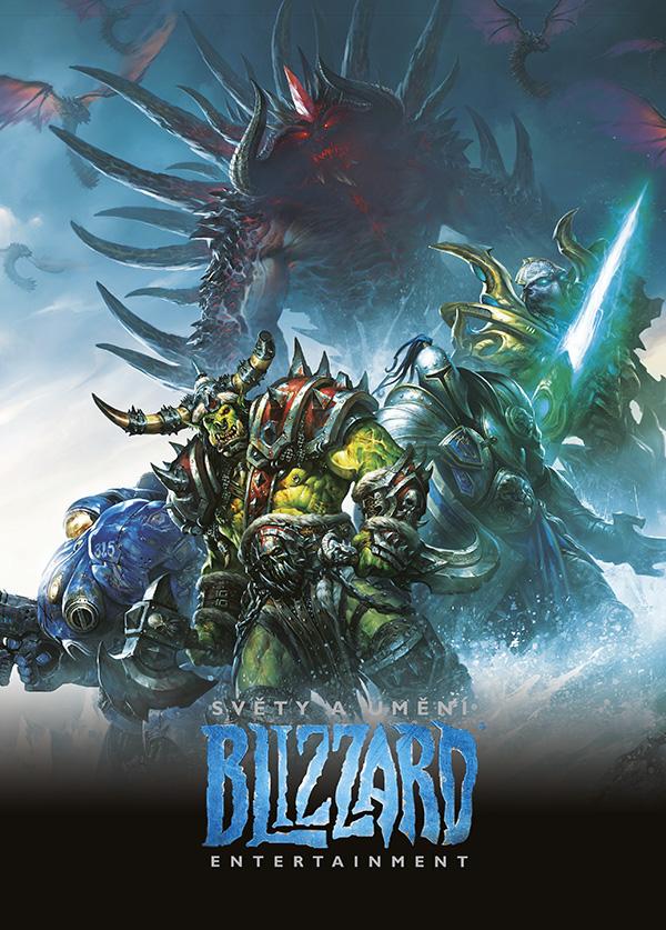 Kniha Světy a umění Blizzard Entertainment (The Art of Blizzard) (PC)
