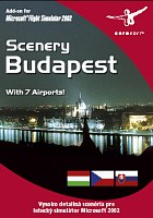 Flight Simulator 2002 a 2004: Scenery Budapest (PC)