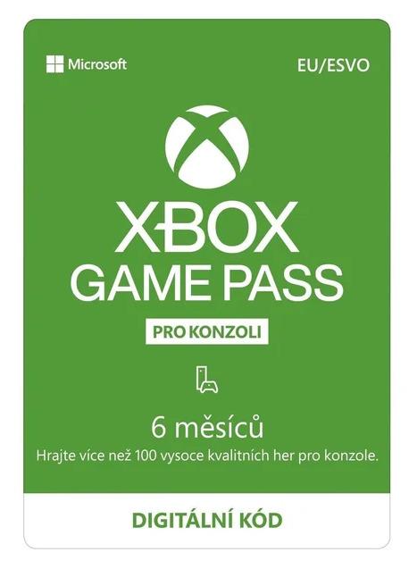 Xbox Game Pass předplatné na 6 měsíců (XONE DIGITAL) (XONE)
