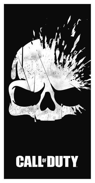Ručník Call of Duty - Broken Skull (PC)